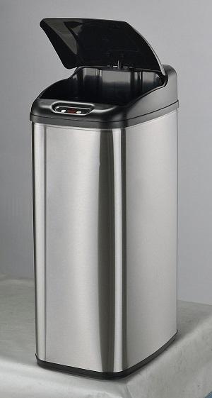 Bezdotykowy kosz na śmieci 50L prostokątny