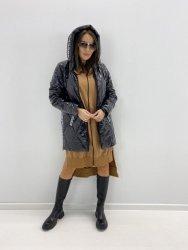 pikowana kurtka z lampasami