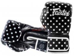 Rękawice bokserskie BGV14BP VINTAGE ART-POLKA DOT Fairtex