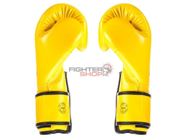 Rękawice bokserskie BGV14 MICROFIBER YELLOW Fairtex