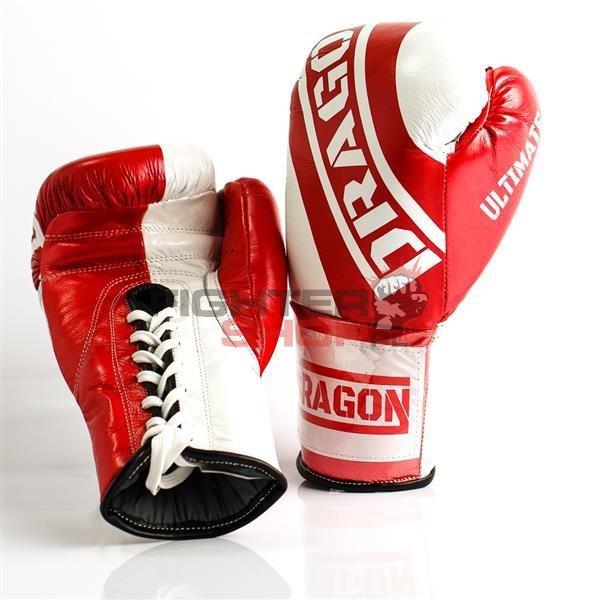 Rękawice bokserskie sznurowane ULTIMATE LACES Dragon