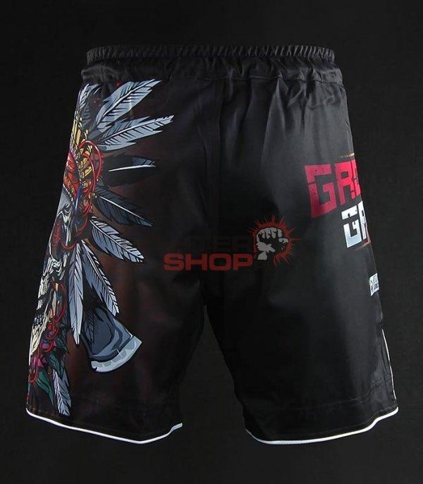 Spodenki MMA INDIAN SKULL Ground Game