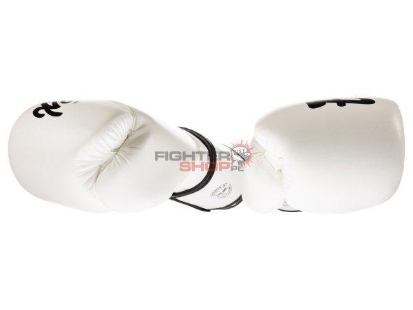 Rękawice bokserskie BGV14 MICROFIBER WHITE Fairtex