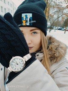 Zegarek ze srebra kod 876