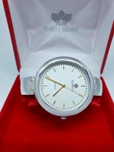 Zegarek ze srebra kod 874 duża tarcza