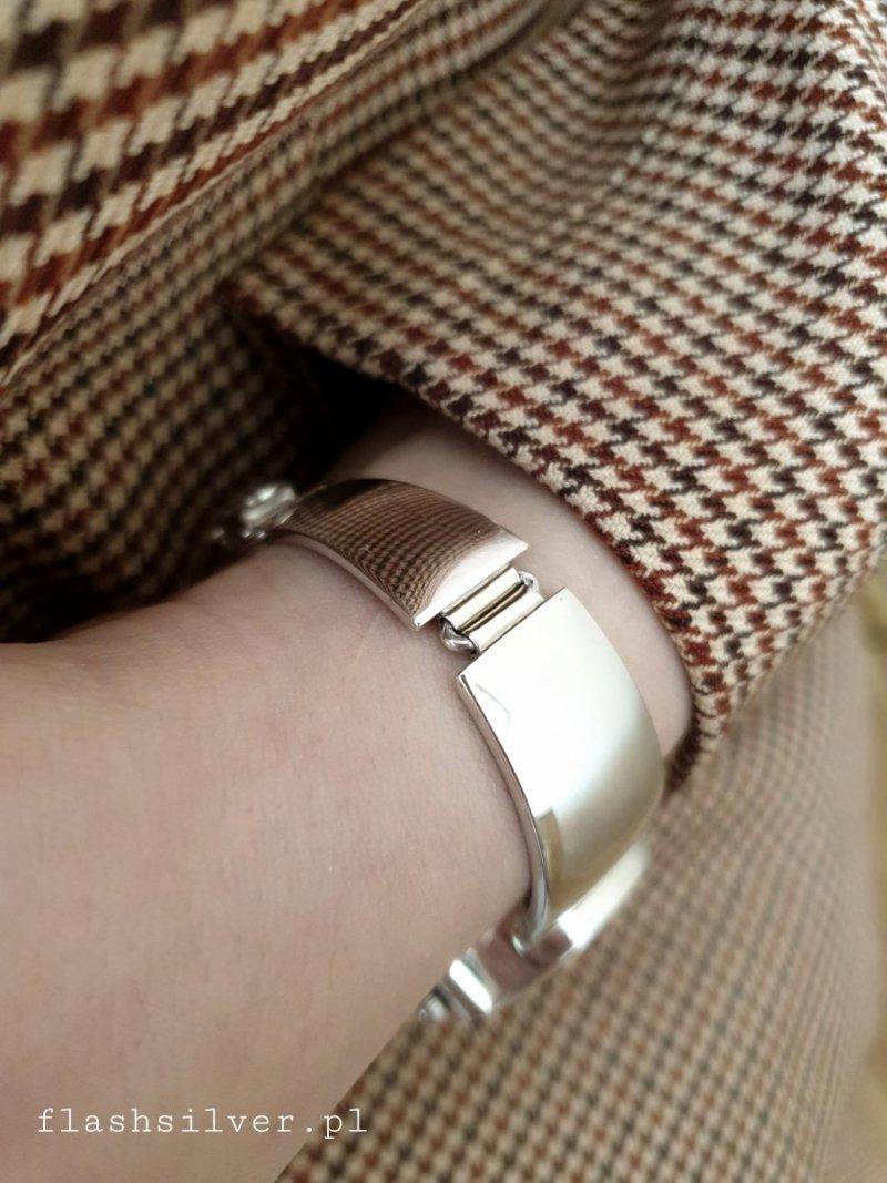 srebrny zegarek 925