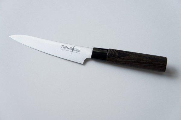 Nóż uniwersalny 13cm Tojiro Zen Kasztan
