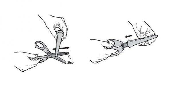 Nożyczki do ziół PRESTO 20 cm Tescoma