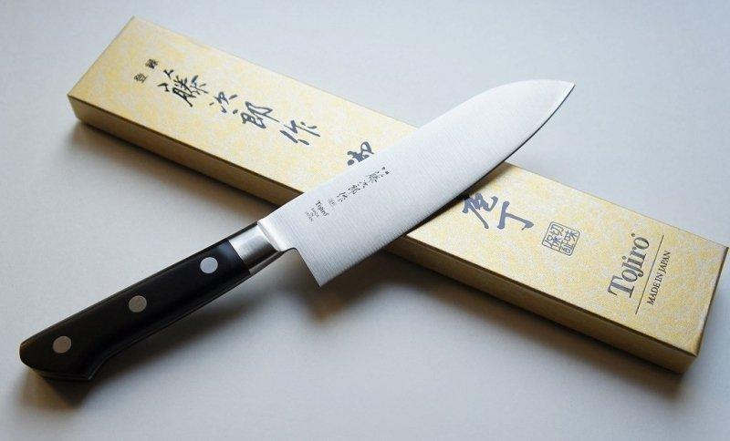 Nóż Santoku 17cm Tojiro DP3