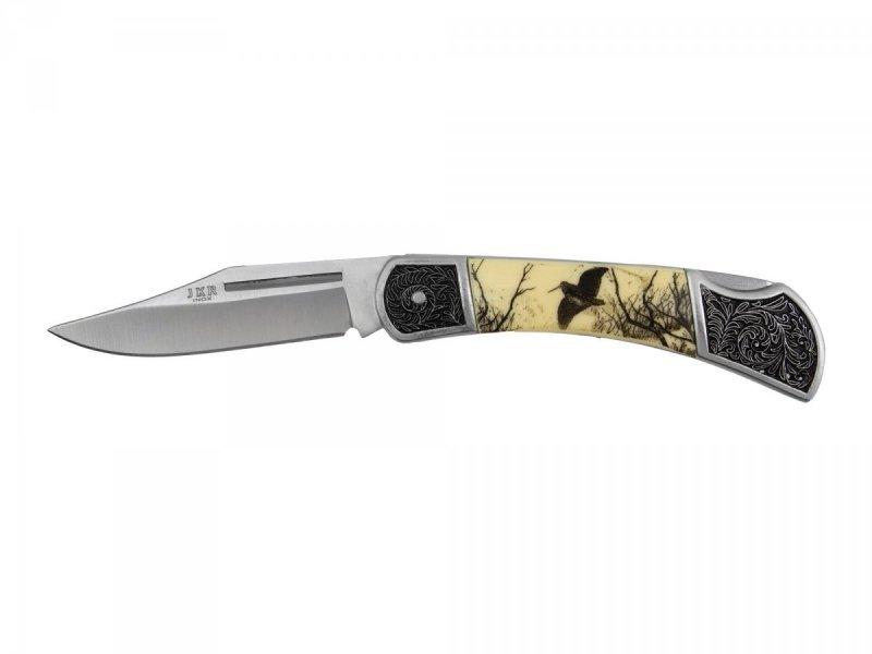 Nóż Joker dekorowany ptak ostrze 8 cm