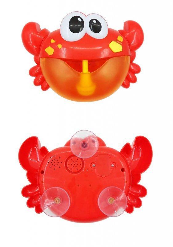 Generator baniek piany zabawka do kąpieli krab