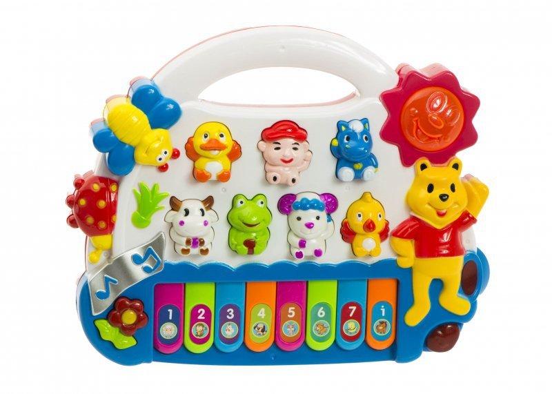 Pianinko organki dla dzieci odgłosy zwierząt