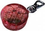 Trixie  Odblask na obroże czerwony 2,5cm
