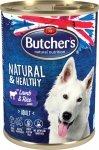 Butchers Natural&Healthy Jagnięcina ryż 390g