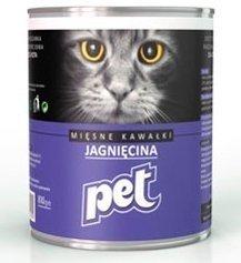 Pet Cat Jagnięcina 810g