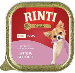 Rinti Mini Gold 100g Kaczka/ Drób