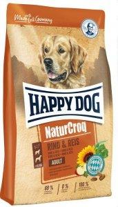 Happy Dog NaturCroq wołowina ryż 15kg