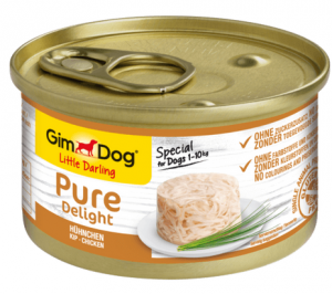 GimDog Pure Deli puszka dla psa z kurczakiem 85g