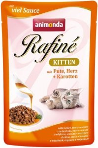 Animonda Rafine Kitten Indyk Serca Marchewka 100g