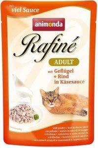 Animonda Rafine Adult Drób i wołowina w sosie serowym 100g