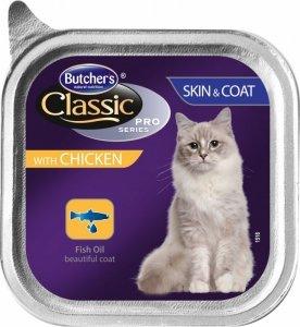 Butchers Pasztet kurczak 100g sierść skóra