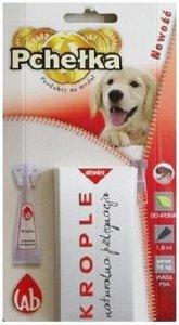 Pchełka Krople ochronne dla psów powyżej 15kg 1,8ml