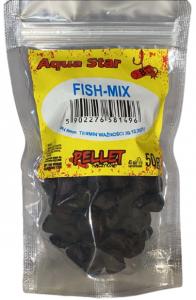 Aqua Star Pellet haczykowy 8mm 50g Fish Mix