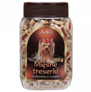 Adbi AM 60 Mięsne Treserki Wołowina Ryż 300g