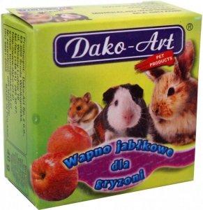 Dako-Art Wapno jabłkowe dla gryznoni 1szt