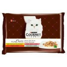 Gourmet A'la Carte Karma Dla Kota Kolekcja Smaków multipack 4x85g