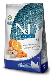 ND Dog Ocean Adult Mini 800g Codfish Orange Pumpkin