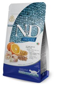 ND Cat Ocean Adult 1,5kg Cod spelt oats orange