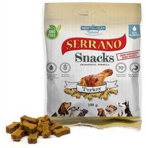 Serrano Snack Dog 100g Indyk