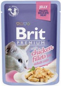 Brit Premium Cat 85g Kurczak galaretka sasz
