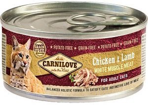 Carnilove Cat 100g Adult Chicken Lamb