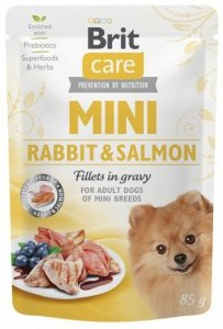 Brit Care Mini 85g Rabbit Salmon saszetka