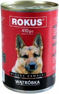 Rokus Dog Wątróbka 410g
