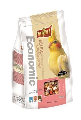 VITAPOL Pokarm economic dla nimfy 1200g