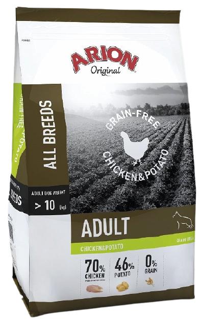 Arion Grain Free Chicken Potato 12kg