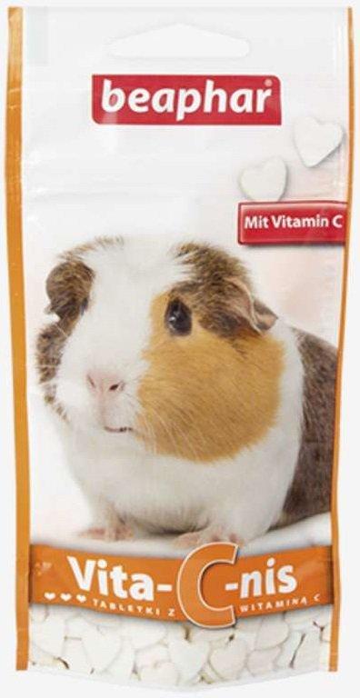 Beaphar Vita-C-Nis 50g tabletki świnka morska