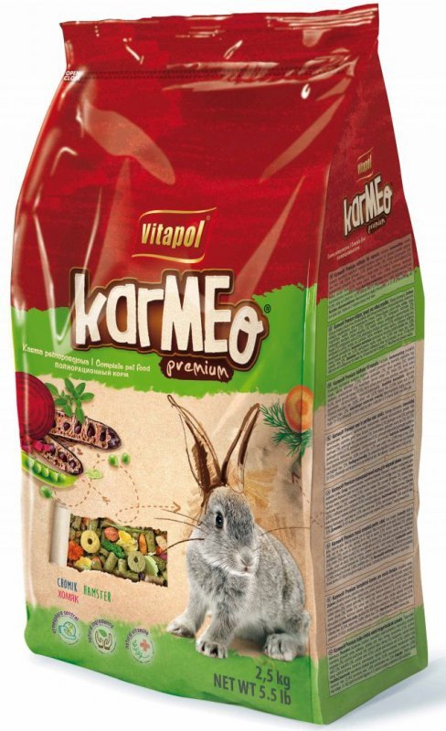 VITAPOL Karmeo pokarm dla królika 2,5kg