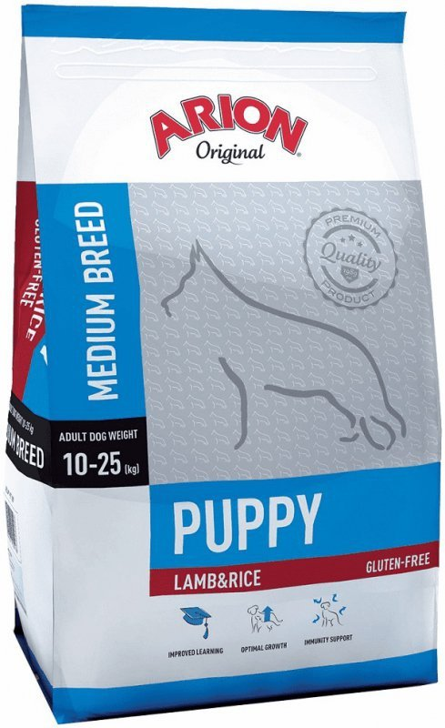 Arion Original Puppy Medium Lamb Rice 3kg