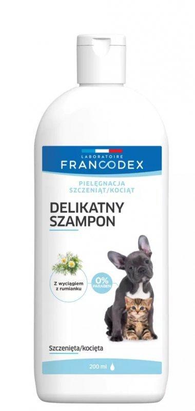 Francodex Łagodny szampon dla juniorów psa i kota 200ml