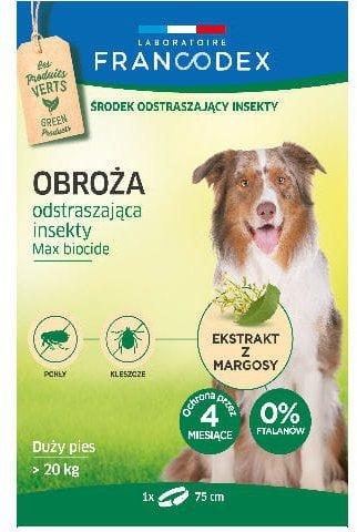 Francodex Obroża insektobójcza dla dużego psa 75cm