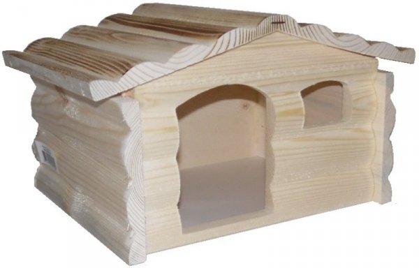 Zolux Domek drewniany góralski dla świnki
