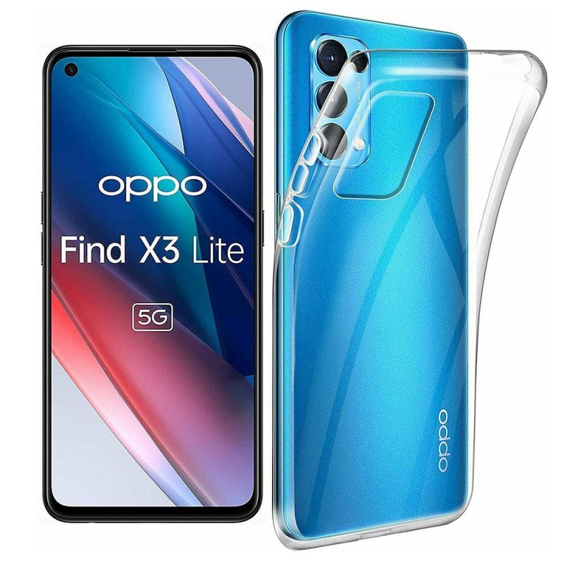 Futerał Back Case Ultra Slim 0,5mm do OPPO Find X3 LITE