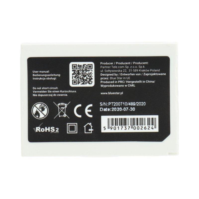 Bateria do Nokia 3310/3510  900 mAh Li-Ion Blue Star