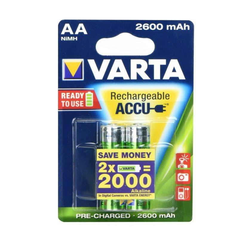 Bateria akumulatorowa VARTA R6 2600 mAh (AA) 2 szt. Professional ready