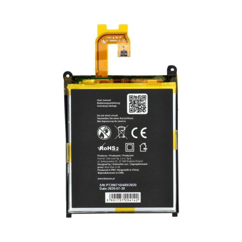 Bateria do Sony Xperia Z2 3200mAh Li-Poly Blue Star PREMIUM