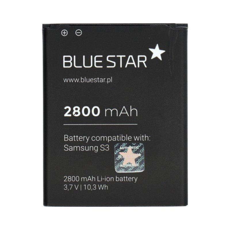 Bateria do Samsung I9300 Galaxy S3 2800 mAh Li-Ion Blue Star PREMIUM